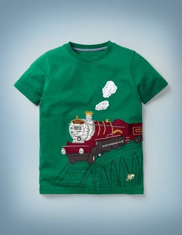 Bergwiesengrün Das Magische Transport T-Shirt