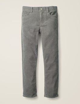 Grey Marl Cord Slim Cord Jeans