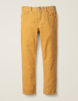 Yellow Cord Slim Cord Jeans