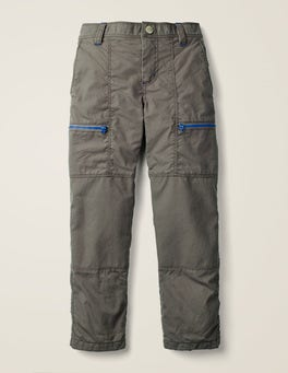 Night Owl Grey Lined Skate Trousers