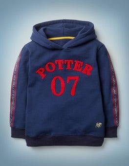 Dunkelblau Potter-Kapuzenpullover