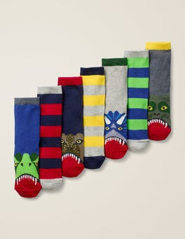 Dinosaurs 7 Pack Sock Box