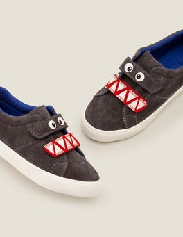 Night Owl Grey Suede Low Tops