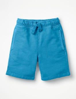 Atomic Blue Garment-dyed Sweatshorts