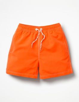 Sattes OrangeFarbwechselnde magische Badeshorts