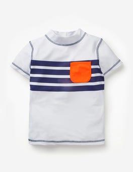 Short-sleeved Rash Vest