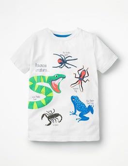 White Poisonous Creatures Wild Animals T-shirt