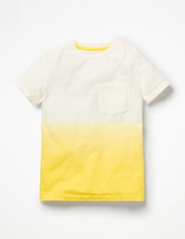 Sunshine Yellow Dip-Dye T-shirt
