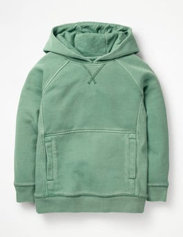 Patina Green Garment-dyed Hoodie