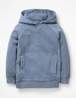 Violet Grey Garment-dyed Hoodie
