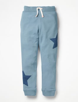 Wren Blue Star Appliqué Joggers
