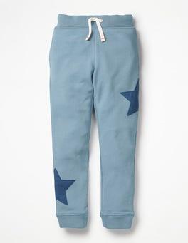 Wren Blue Star Appliqué Joggers