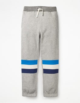 Grey Marl Track Pants