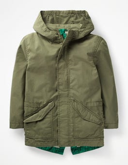 Army Green Lightweight Parka