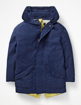 College Blue Lightweight Parka