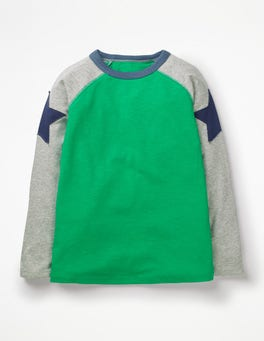 T-shirt de super-star à manches raglan