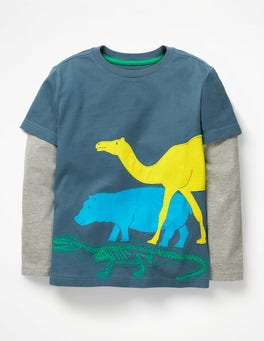 Textured Animal T-shirt