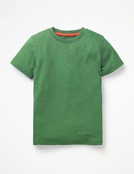 Rosemary Green Slub Washed T-shirt
