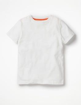 White Slub Washed T-shirt