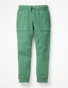 Rosemary Green Garment-dyed Joggers