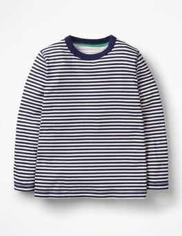 College Blue/Ecru Supersoft T-shirt