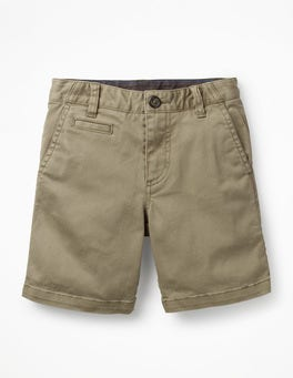 Nutty Brown Chino Shorts