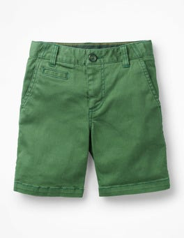 Safari Green Chino Shorts