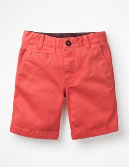 Melon Crush Orange Chino Shorts