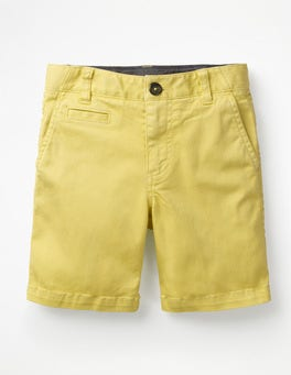 Buttercup Yellow Chino Shorts