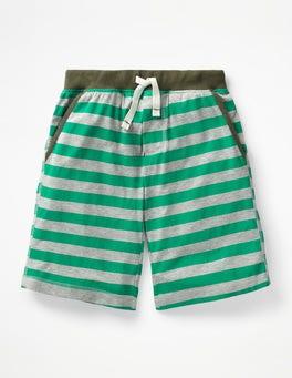Astro Green/Grey Marl Jersey Shorts