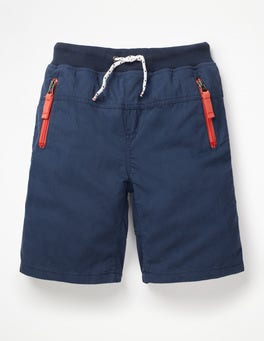College Blue Adventure Shorts