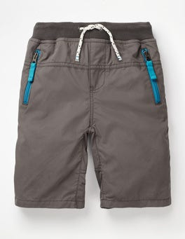 Pewter Grey Adventure Shorts