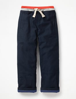 College Blue Lined Mariner Trousers
