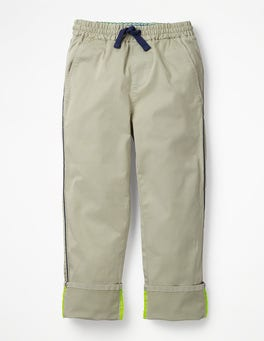 Canvas Pull-on Chino Trousers