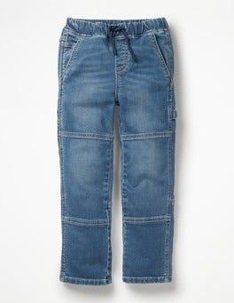 Mid Vintage Rib Waist Carpenter Pants