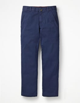 College Blue Chino Trousers