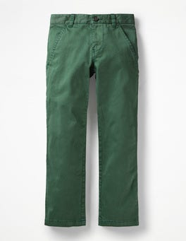 Safari Green Chino Trousers