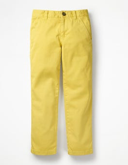 Buttercup Yellow Chino Trousers
