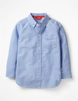 Blue Oxford Oxford Shirt