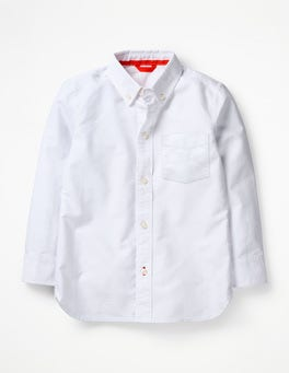 White Oxford Oxford Shirt