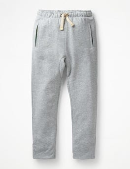 Grey Marl Lined Slouch Sweatpants