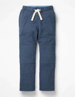 Mid Blue Marl Warrior Knee Sweatpants
