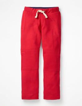 Engine Red Warrior Knee Sweatpants