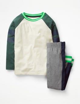 Green Kingfisher Sporty Pyjama Set