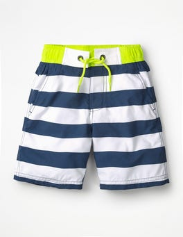 Lagoon Blue/Ivory Board Shorts