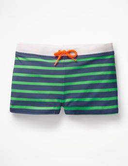Lagoon Blue/Apple Fizz Green Swim Trunks