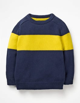 Starboard Blue Crew Sweater