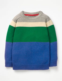Duke Blue/Astro Green Crew Sweater