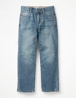 Vintage clair Jean coupe droite