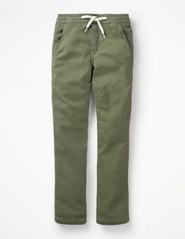 Army Green Jersey Skinny Jeans